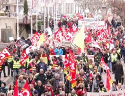 Samedi 11 janvier Manifestation à Manosque contre la réforme des retraites