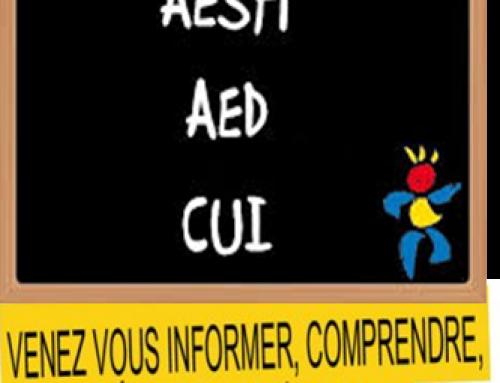 AESH / AED / AVS reçues par l'Inspecteur d'académie / Date de la prochaine réunion