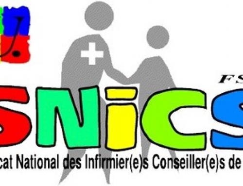 Disparition de la santé à l'École: COMMUNIQUE DE PRESSE SNICS-FSU