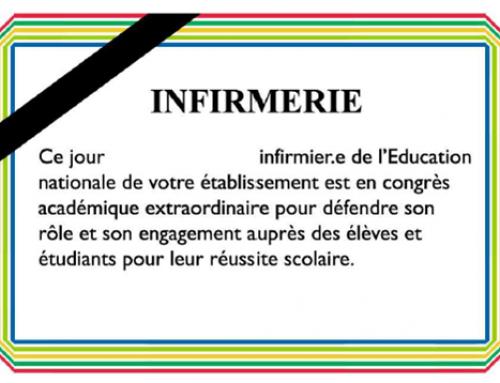 13 JUIN : Journée noire pour les infirmier.es conseiller.es de santé