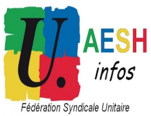 Mobilisation AESH mercredi 20 novembre 11h00 à Digne