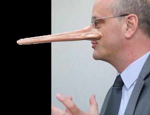 Jean-Michel Blanquer, le (boni)menteur de la République