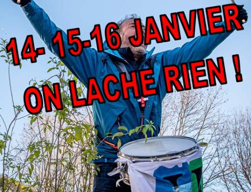 14-15-16 janvier : Toutes et toutes dans l'action !