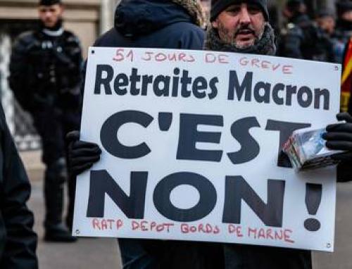 Jeudi 6 février En grève pour dire non au diktat des retraites !
