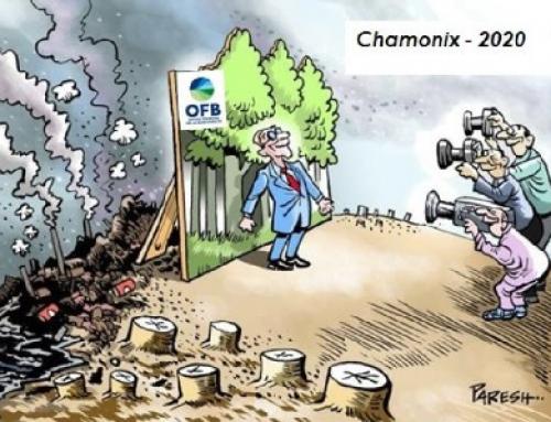 Emmanuel Macron inaugure l'Office français de la biodiversité à Chamonix