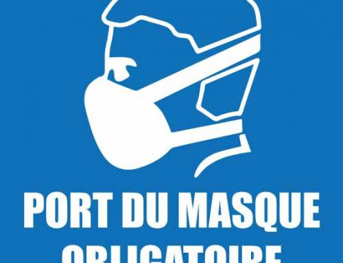 Le port du masque est OBLIGATOIRE pour les personnels enseignants!