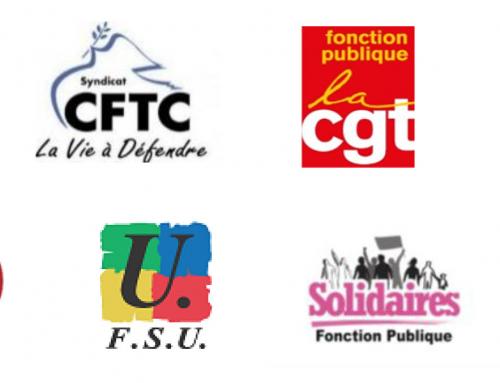 Jour de carence et COVID : Courrier intersyndical à la ministre de la Fonction Publique
