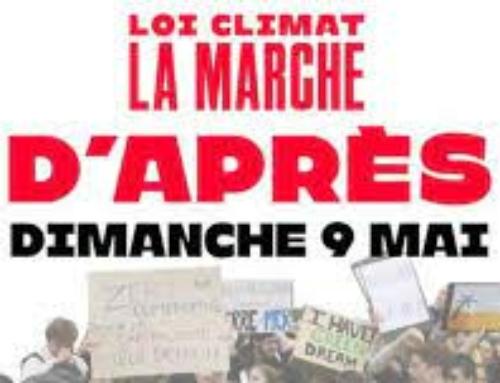 Marche pour le climat : dimanche 9 mai à 14 h place du général De Gaulle